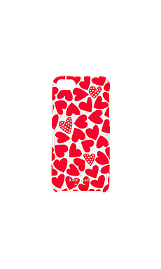 Scattered Hearts iPhone 7 Case en Imprimé