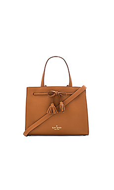 Small Isobel Tote in Warm Cognac & Saffron