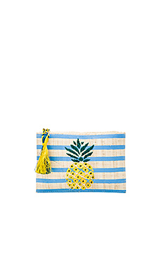 Pineapple Clutch – 蓝色