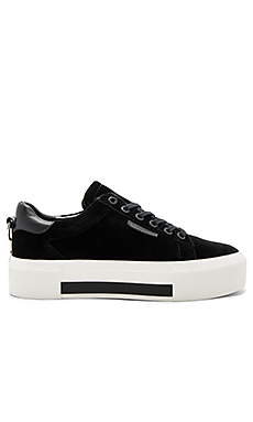 Tyler Sneaker in Black Velvet