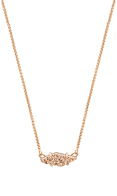 Bridgette Necklace en Rose Gold & Rose Gold Drusy