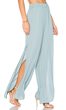 Side Slit Pant en Brook