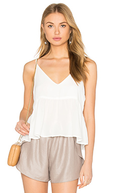 Camisole Crop Top in White