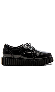Wonda Oxford en Cuir Noir