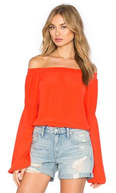 Atlanta Top en Orange Sanguine