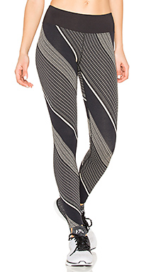 Axis Legging en Tan Stripes & Black