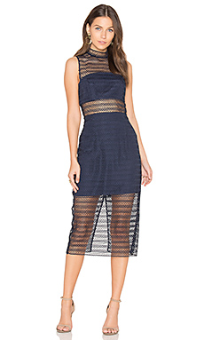 ROBE MIDI EN DENTELLE ALL NIGHT