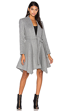Mocking Bird Coat in Grey