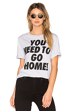 Single Jersey You Need To Go Home Tee – 淡灰色
