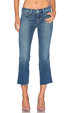 JEAN FLARE CROPPED CHARLIE