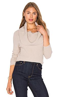 Amalia Cowl Sweater in Fawn