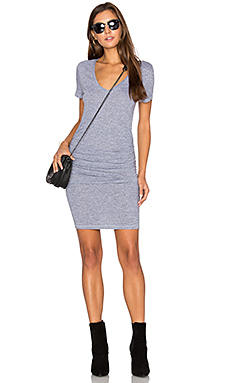 Ruched T Shirt Dress – Heather