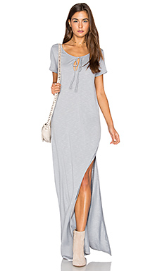 Caftan Shirt Maxi Dress in Oyster