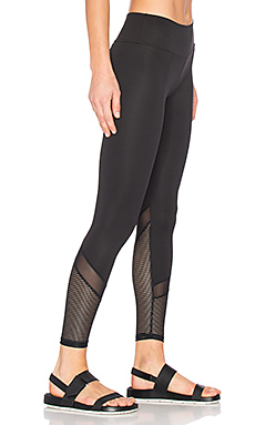 SPORT Blake Mesh Leggings in Black