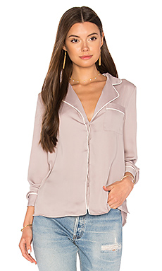 The Lounge Shirt in Mauve & Ivory