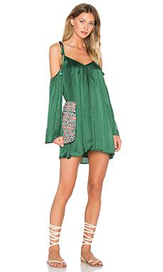 Rampling Mini Dress – Basil