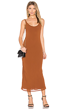 Rima Bias Maxi Dress en Whiskey
