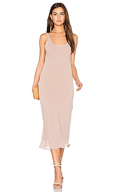 Ely Bias Dress en Skin