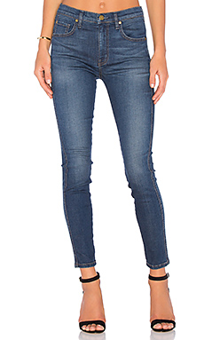 Jane High Rise Slim Skinny in Hazel