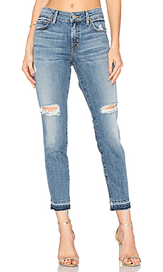 JEAN SKINNY SLOUCHY AMBER