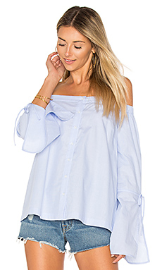Allington Top en Bleu clair