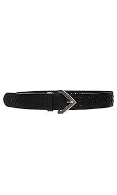 Woven Belt en Noir