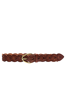 Braided Hip Belt en New Cognac