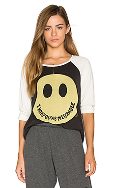 SWEAT BOYFRIEND MANCHES RAGLAN MAGLAN