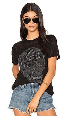 Suki Mini Star Skull Tee – 黑色