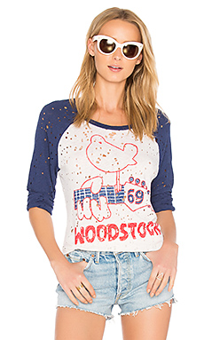 Maglan Woodstock Raglan en Scour & Blue Magic