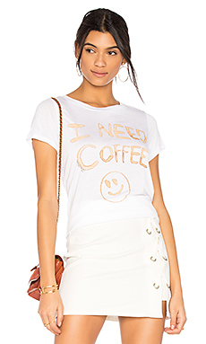 T-SHIRT JANIE I NEED COFFEE