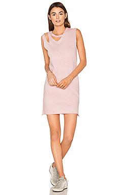 Double Cut Tank Dress – Rose Potassium
