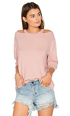 Bolero Sweater in Crystal Rose