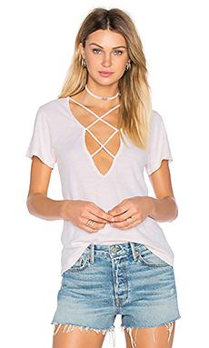 双十字交叉T恤