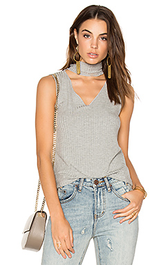 Sleeveless Detached Turtleneck en Marengo