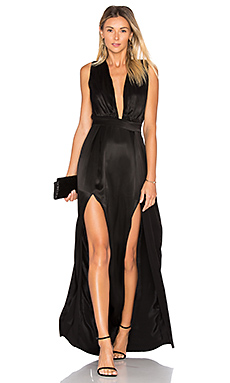 x REVOLVE Naomi Gown in Black