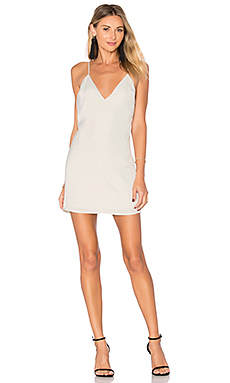 x REVOLVE Mini Slip Dress in Opal
