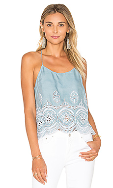 Baciami Top in Light Wash