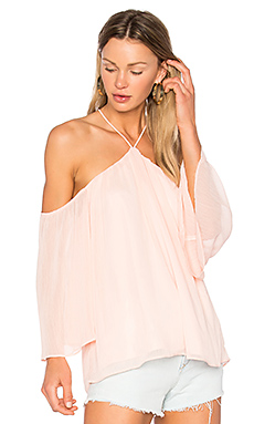x REVOLVE Thai Top en Blush