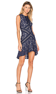 Rapture Mini Dress in Navy