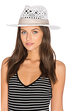 Jet Setter Hat in White