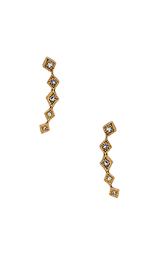 BOUCLES D'OREILLES DIAMOND KITE CRAWLER