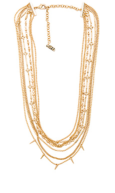 COLLIER CLOUTÉ MULTI-RANGS