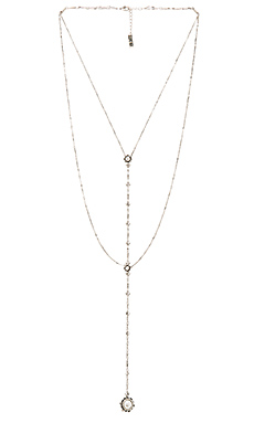 The Versailles Lariat in Silver Ox