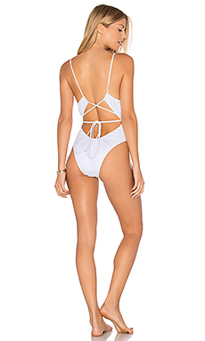 x MINIMALE Daiquiri One Piece Swimsuit in Sea Salt