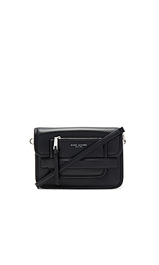 Madison Medium Shoulder Bag in Black