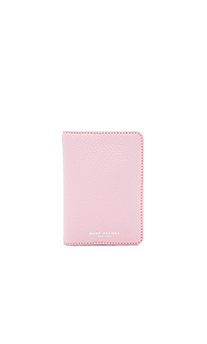 Gotham Passport Cover in Pink Fleur