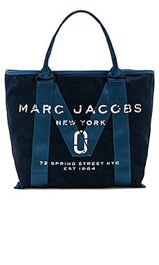 New Logo Tote in Denim