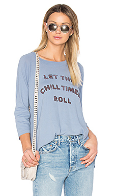 T-SHIRT MANCHES RAGLAN CHILL TIMES ROLL