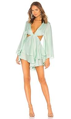 x REVOLVE Moseley Dress in Blush. - size L (also in M,S,XS) Michael Costello